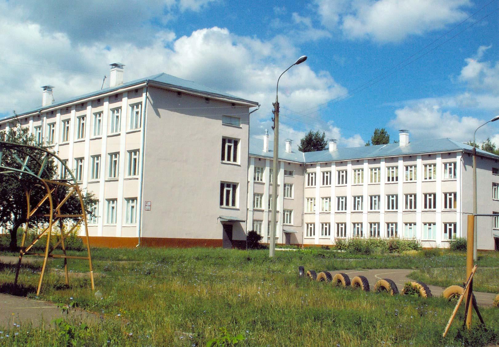 Школа №1 г. Нижнекамска